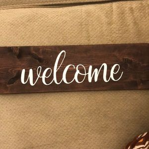 Other - Welcome Sign